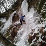 八ヶ岳美濃戸口 アイスクライミング 2012年12月22日~23日
