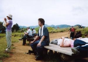 丹沢主脈縦走 2004年7月17日~7月18日