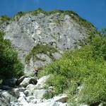 屏風岩 雲稜ルート 2002年8月31日