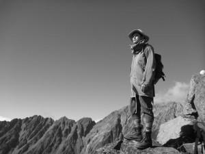 慰霊祭山行 明神5峰 南西稜 2012年10月20日