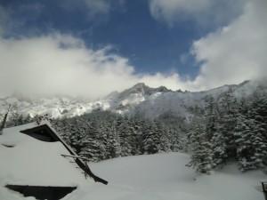 ヒマラヤ遠征トレーニング山行 赤岳主稜 2013年2月16日