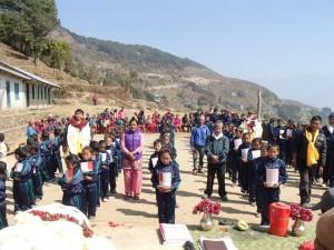 2015年ネパール現地支援:ボガル村