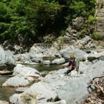 渓流釣り三国川下津川