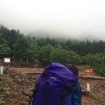 個人山行:赤岳(雨・・・)