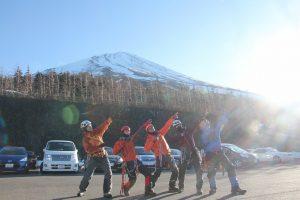 富士山雪上訓練#1