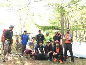 個人山行:小川山クライミング2017