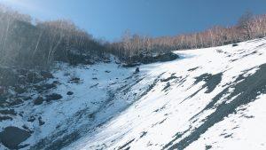富士山雪上訓練