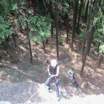 個人山行 日和田登攀訓練