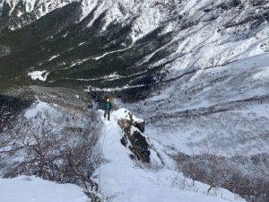八ヶ岳 阿弥陀北稜
